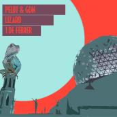 Pelut&Gon Lizard. Um projeto de Ilustração digital de Manel Gon - 23.01.2019
