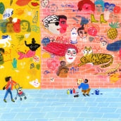 Ilustraciones para Lenny Letter. A Drawing & Illustration project by María Luque - 01.23.2018