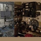 Crystal Palace Cinema photogrammetry scan. Un proyecto de 3D, Arquitectura y Arquitectura interior de Miguel Bandera - 24.01.2019