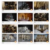 Reconstrucción 3d y escaneados por fotogrametría. Un proyecto de Fotografía, 3D, Arquitectura, Arquitectura interior y Videojuegos de Miguel Bandera - 17.01.2019