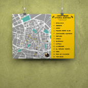 Mapa de Craftbeer Vitoria-Gasteiz. Un proyecto de Diseño gráfico e Infografía de La GIStería - 29.01.2019