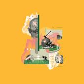 Revista Wired - Collages editoriales. Un projet de Illustration, Conception éditoriale et Illustration numérique de Israel García Vargas - 10.01.2018