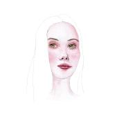 Proyecto San Valentín. Un proyecto de Ilustración de retrato y Pintura a la acuarela de Valeria Montes - 31.01.2019