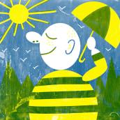 Mi Proyecto del curso: Ilustración original de tu puño y tableta. A Digital illustration project by Elisa Isabel Delgado Cruz - 02.01.2019