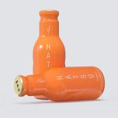 Hatsu Tés Botellas. A 3-D, Produktdesign, Produktion und Produktfotografie project by Alejandro Herrada González - 06.02.2019