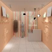 Mi Proyecto del curso: Iniciación al diseño de interiores. A 3D, Architecture & Interior Architecture project by Cynthia Gil Benites - 02.10.2019