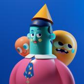 COSAS TRES D II. Un progetto di Illustrazione, Direzione artistica, Character Design , e Modellazione 3D di Aarón Martínez - 11.02.2019
