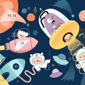 Libro infantil. Um projeto de Ilustração de Maryna Kizilova - 11.02.2019