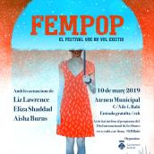 Cartel Fempop Día Internacional de la Mujer. A Illustration, Graphic Design, and Poster Design project by Oscar Giménez - 02.13.2019