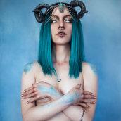 Capricorn. Un proyecto de Fotografía, Fotografía de retrato, Fotografía de estudio y Fotografía digital de Alba Gesti - 14.02.2019