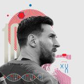 Howler Magazine - What Messi Does for Me. Un projet de Design , Conception éditoriale et Illustration de Israel García Vargas - 15.01.2019