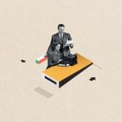 A Short History of the Office. Un projet de Design , Illustration , et Conception éditoriale de Israel García Vargas - 15.09.2018