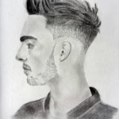 Dibujo retrato. A Pencil drawing, and Portrait Drawing project by Filipe Patrocínio - 02.16.2019