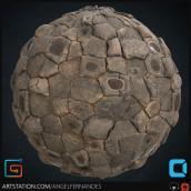 Giants Causeway - Substance Designer. Un progetto di 3D , e Videogiochi di Angel Fernandes - 16.01.2019