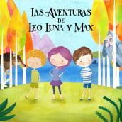 Las Aventuras de Leo, Luna y Max. Um projeto de Ilustração de Alicia López Orozco - 18.02.2019