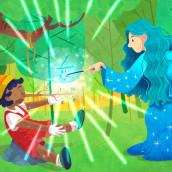 Kid's Tales APP. Un proyecto de Ilustración digital de Nuria Ayma Comas - 10.01.2019