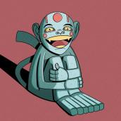 Mi Proyecto del curso: Animación 2D con Photoshop: dibujo, cámara y ¡acción!. Um projeto de Animação 2D de Javier Vidales - 27.02.2019