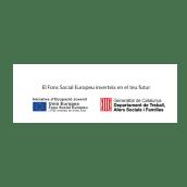 Ajuda Fons Social Europeu. Un proyecto de Diseño gráfico de Clàudia Llopis - 04.03.2019