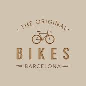 Original Bikes Logo. Un proyecto de Diseño de carteles de Clàudia Llopis - 04.03.2019