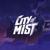 City of Mist. Un projet de Direction artistique, Br, ing et identité, Conception de jeux , Design graphique, Lettering , et Création de logo de Juancho Crespo - 04.03.2019