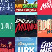 Lettering. Un projet de Création de logo , et Lettering de Juancho Crespo - 04.03.2019