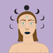 Mi Proyecto del curso: Ilustración vectorial con estilo. Un progetto di Illustrazione di Candy Solis - 08.03.2019