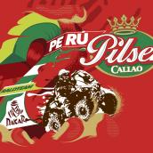 PILSEN CALLAO. Un proyecto de Ilustración, Tipografía y Lettering de Domingo Betancur - 11.03.2019