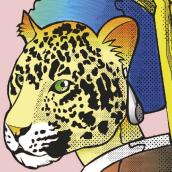 Jaguar. A Illustration, Vektorillustration, Zeichnung und Digitale Illustration project by Maxwell Machado - 13.03.2019