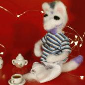 Meu projeto do curso: Needle felting: creación de personajes con lana y aguja. A H, werk, Stickerei und Kreativität project by Maxwell Machado - 13.03.2019