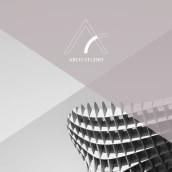 Identidad Corporativa Arco Studio. Un proyecto de Diseño, Br, ing e Identidad, Gestión del diseño, Diseño editorial, Diseño gráfico, Diseño de producto, Naming y Diseño de logotipos de Patricia Fesán - 15.03.2019