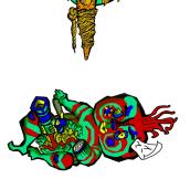 Imaghijo. Un proyecto de Ilustración, Diseño de personajes e Ilustración digital de Alba Batanero - 16.03.2019