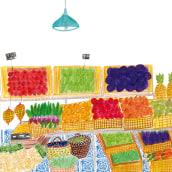 Rebanadas. Um projeto de Design editorial e Ilustração infantil de Patricia Cornellana - 22.03.2019