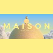 """MAISON """"A Self Journey"""". Um projeto de 3D, Animação de personagens e Animação 3D de Fabio Medrano - 27.03.2019"""