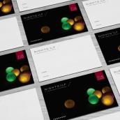 branding and advertising for Nightgolf. Un proyecto de Br, ing e Identidad, Diseño de logotipos y Publicidad de Joaquin Austin - 01.01.2016
