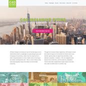 Sitio web c40 Inclusive Cities. Um projeto de Web design e Desenvolvimento Web de Javier Usobiaga Ferrer - 28.03.2019