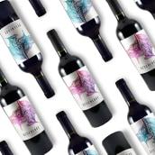 Desenlace wines. Un proyecto de Br, ing e Identidad y Diseño gráfico de Mariel Vignoni Debandi - 12.01.2019