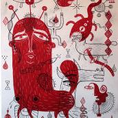 Before the Beginning. Un proyecto de Bellas Artes, Dibujo artístico y Pintura de Mickael Brana - 08.04.2019