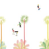 """BCN. Un proyecto de Ilustración digital de """"lanómada"""" - 08.04.2019"""