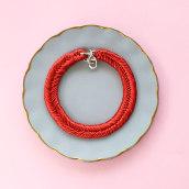 MARIA LA BIYUX - RED METALLIC. A Accessor, Design, Fashion, Jewelr, and Design project by Maria La Biyux - 04.09.2019
