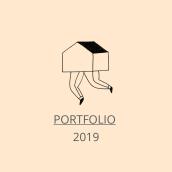"""Portfolio 2019 - Curso: Claves para crear un portafolio de ilustración profesional.. Un proyecto de Ilustración, Diseño editorial, Dibujo y Diseño de carteles de """"lanómada"""" - 10.04.2019"""