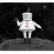 Moonsuit. Un proyecto de Diseño de personajes e Ilustración de Helena Valenzuela Widerström - 20.11.2018