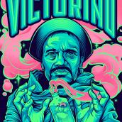 VICTORINO. Um projeto de Ilustração, Ilustração de retrato e Ilustração vetorial de Juan Villamil - 22.04.2019