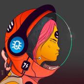 REDsistance 011. A Design, Illustration, Character Design, and Digital illustration project by Gabriel Suchowolski · microbians - 04.22.2019