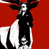 El Peso de la verdad. Ilustrando a Manuel Bartual. A Illustration, and Digital illustration project by José Luis Ágreda - 05.01.2018