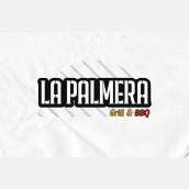 Rebrand La Palmera grill. Un proyecto de Br, ing e Identidad, Diseño de logotipos y Diseño gráfico de Crow - 01.05.2019