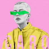 Mi Proyecto del curso: De principiante a superdibujante. A Graphic Design, Street Art, Creativit, Pencil drawing, Drawing, and Portrait Drawing project by Daniela Muñoz - 04.24.2019