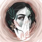 Huracán. A Illustration, Digitale Illustration und Porträtillustration project by Beatriz Ramo (Naranjalidad) - 07.05.2019