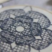 Rosa Tudor. Un progetto di Belle arti di Gimena Romero - 07.05.2019