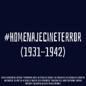 #HomenajeCineTerror. Un projet de Animation , et Motion Design de Amelia Fernández Valledor - 09.05.2019