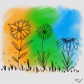 Flores. Um projeto de Design gráfico de Victoria Lazbal - 10.05.2019